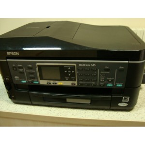 Epson Work Force WF-545+СНПЧ